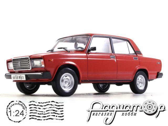 Легендарные советские автомобили №30, ВАЗ-2107 «Жигули» (1982)
