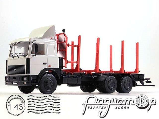 МАЗ-6303 сортиментовоз (1989) 102477