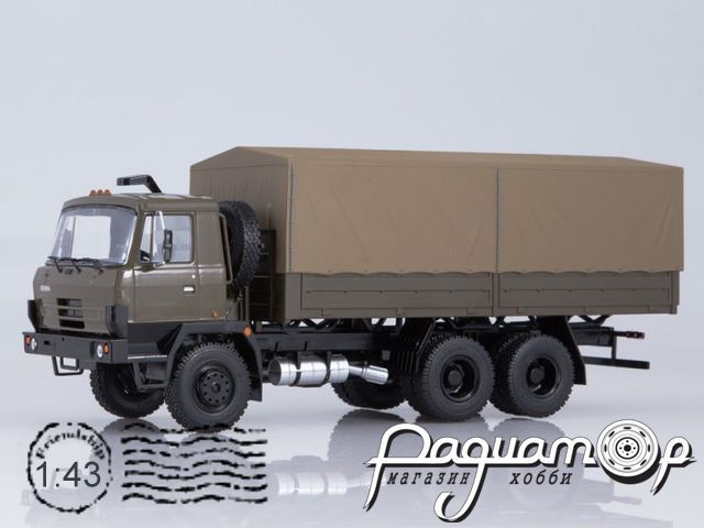 Tatra 815 V26 бортовой с тентом (1985) SSM1346