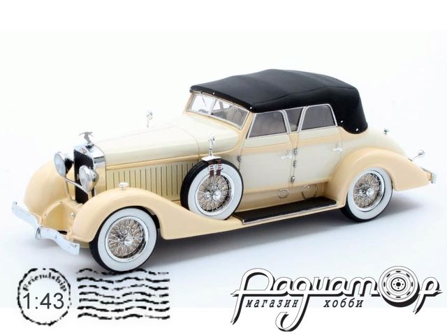 Hispano-Suiza H6C Convertible Sedan Hibbard & Darrin #12036 (1928) MX50806-052