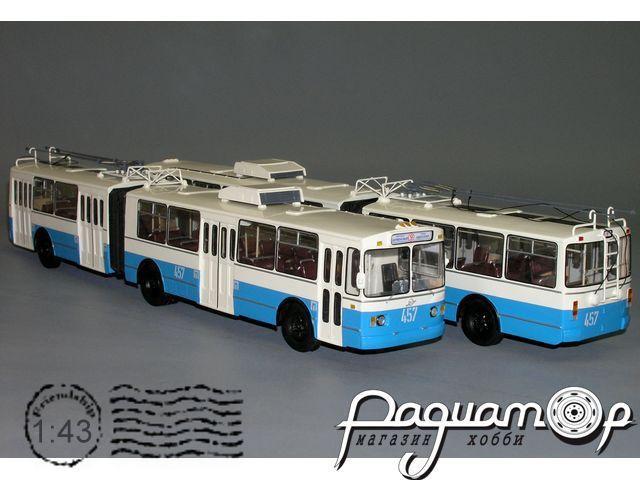 Троллейбус ЗИУ-683В сочлененный, Херсон (1993) W1-42.3