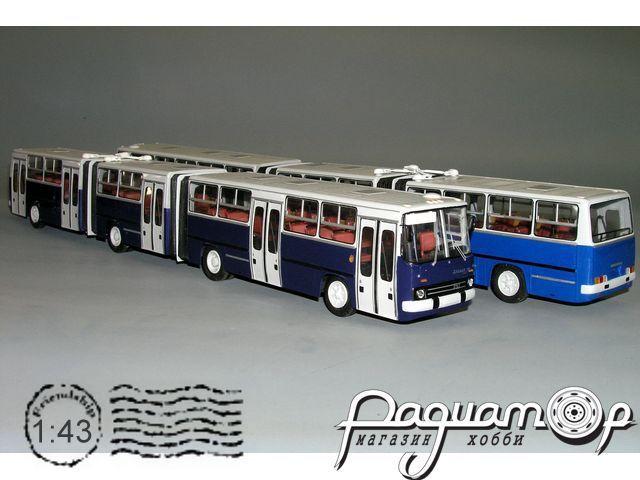 Ikarus 293 трёхсекционный, Венгрия (1988) V5-46