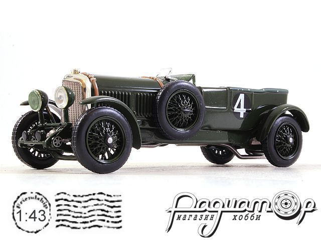 Bentley Speed Six №4 Winner Le Mans (1930) LM1930 (TI)