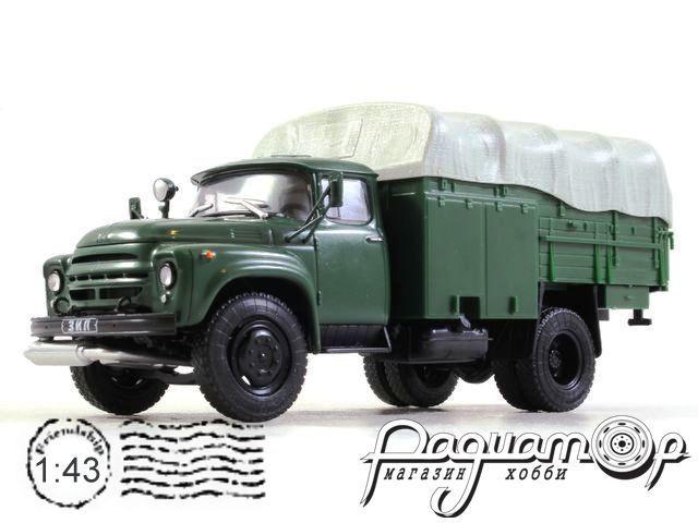 Автолегенды СССР Грузовики №47, ЗиЛ-130 ПСГ-160 (1974)