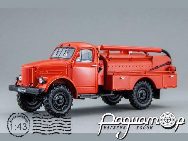 ГАЗ-63 АЦУП-20(63)-60 Автоцистерна упрощенная для сельской местности (1957) 106302
