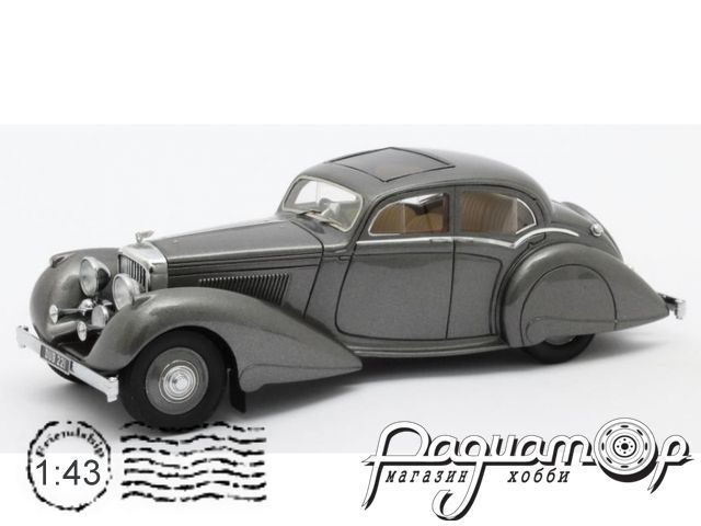 Bentley 4.25 litre Pillarless Saloon Carlton (1937) MX40201-062