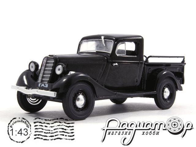 Автолегенды СССР №80, ГАЗ-М415 (1936)