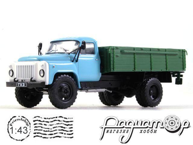 Автолегенды СССР Грузовики №48, ГАЗ-53-12 бортовой (1985)