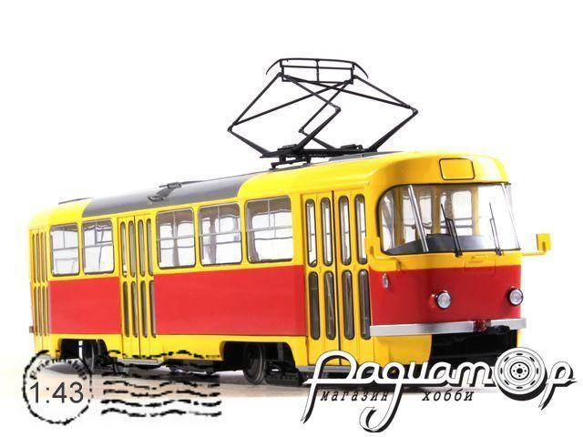 Трамвай Tatra-T3SU (1962) SSM4032