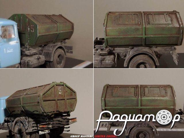 Набор для сборки Мусоровоз МСК 6А (на шасси ЗИЛ-130) GMK001