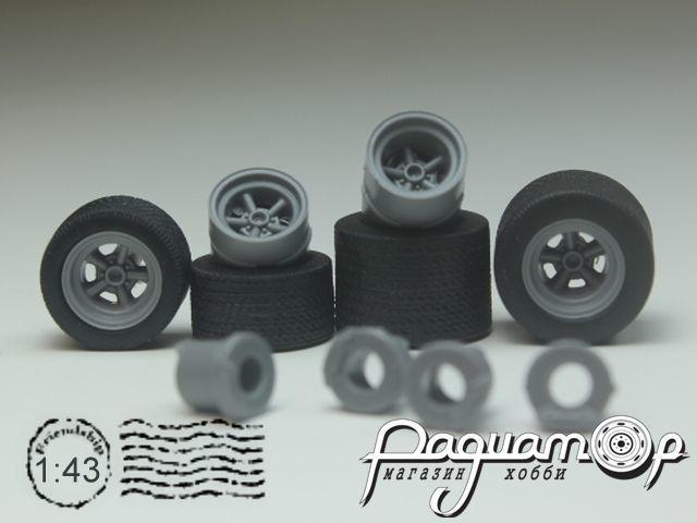 Комплект колес №02 KD002