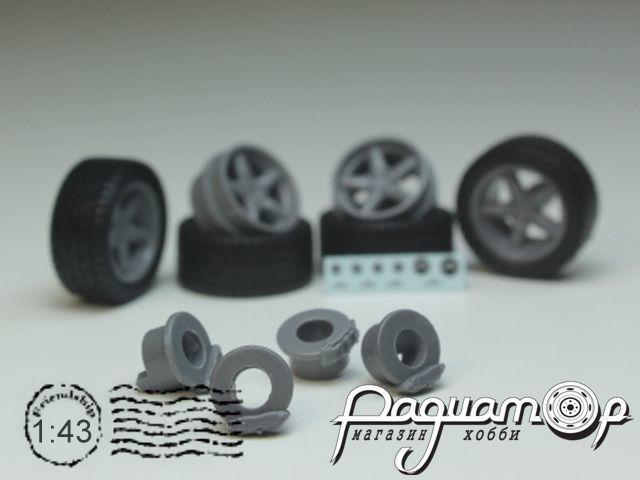 Комплект колес №11 (BMW AC Shnitzer) KD011