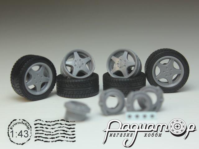 Комплект колес №29 (Mercedes) KD029