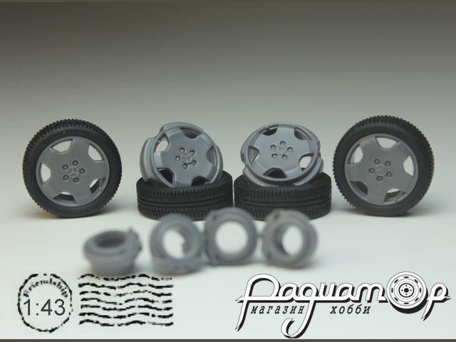 Комплект колес №31 (Mercedes) KD031