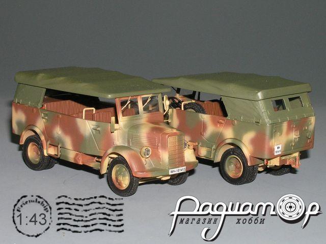 Mercedes-Benz L1500A tent, l-d glass (1941) V6-01.6