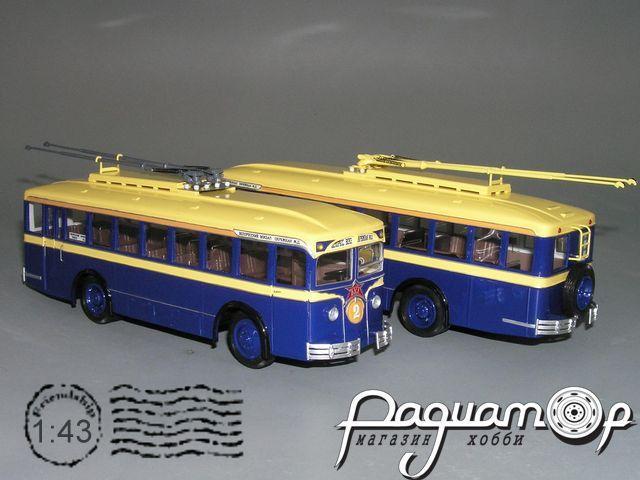 Троллейбус ЛК-1 «Лазарь Каганович» (1933) Р1-00