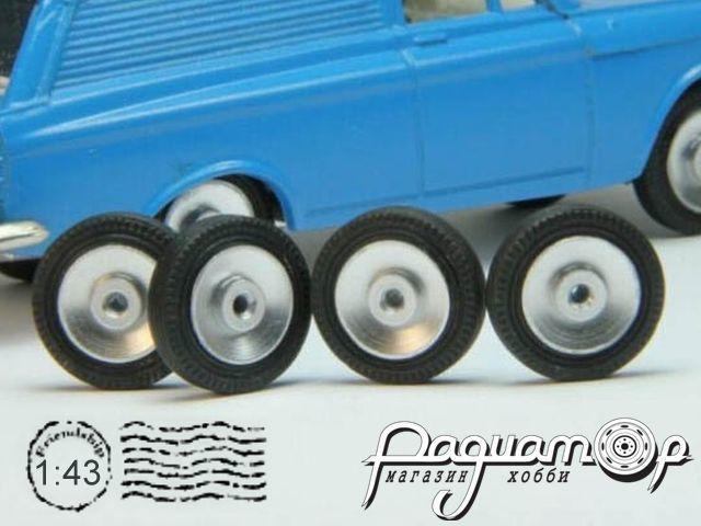 Комплект колес №58 (Москвич АГАТ) KD058