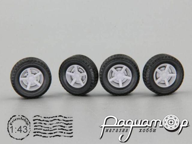 Комплект колес №64 (Нива K&K Титан-Тех 4х4 off road) KD064