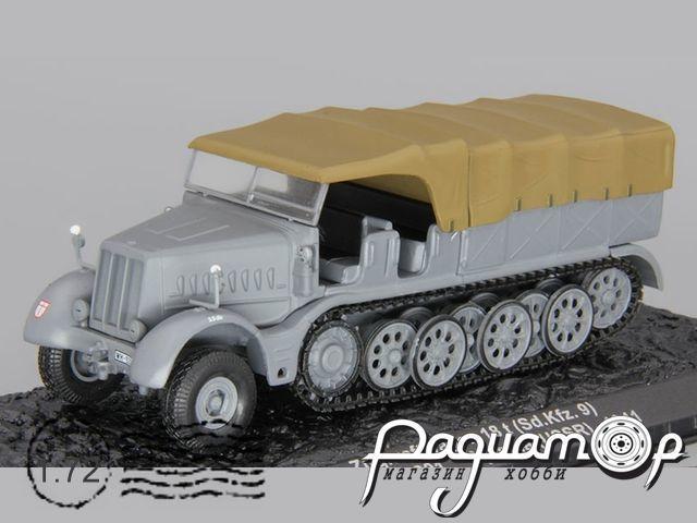 Zugkraftwagen 18t (Sd.Kfz.9), Stug.Abt.201, Wjasma, USSR (1941) EA011