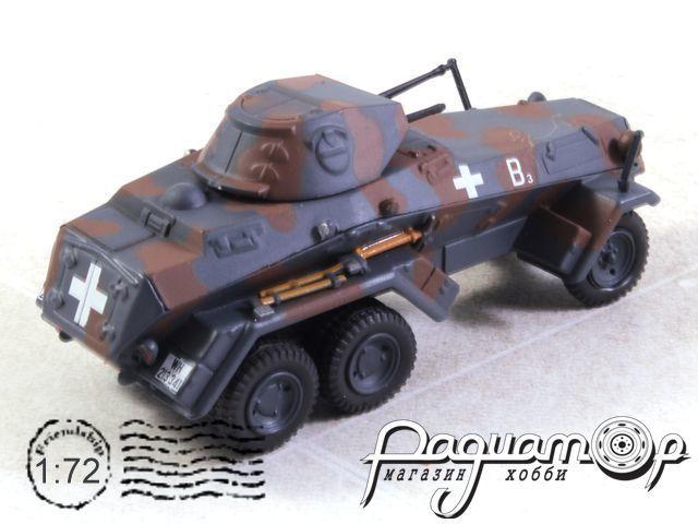 Schwerer Panzerspahwagen 6 Rad (Sd.Kfz.231), 4.Pz.Div., Warsaw, Poland (1939) EA022