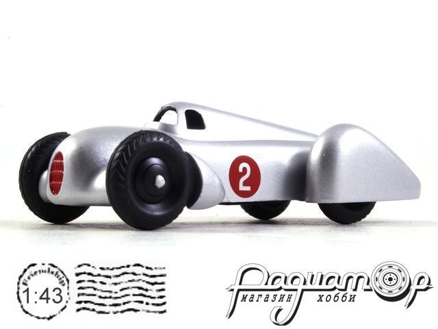 Auto Union Tipo B Racing Car №2 Speed Record (1935) 23D