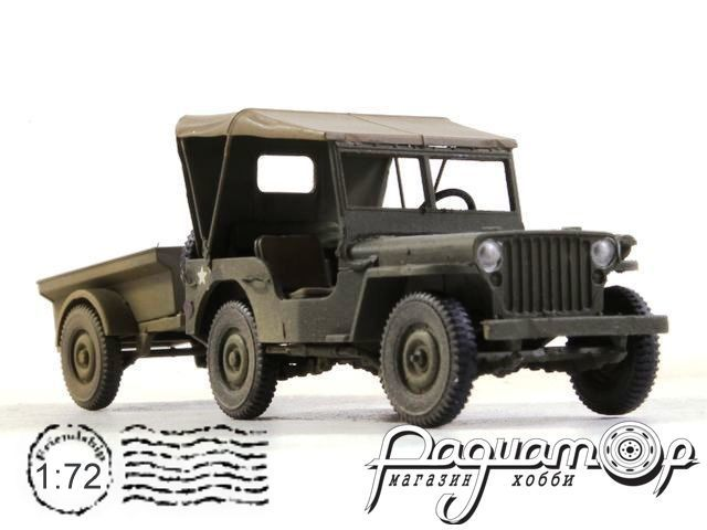 Willys Jeep & Trailer (1945) CP0603