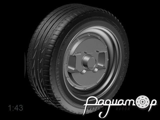 Комплект колес ADVAN model BRX (14 дюймов) (4шт) 043-002