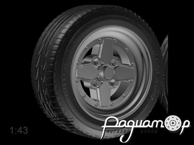 Комплект колес Dunlop model T-E (14 дюймов) (4шт) 043-003