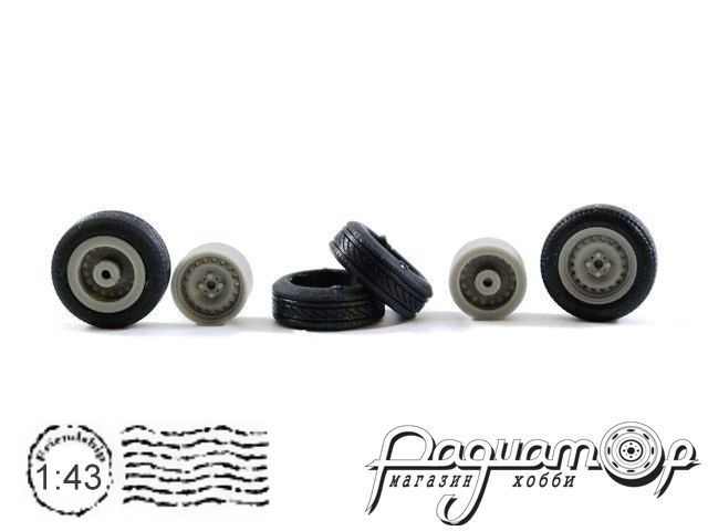 Комплект колес Штампованные (14 дюймов) (4шт) 043-012