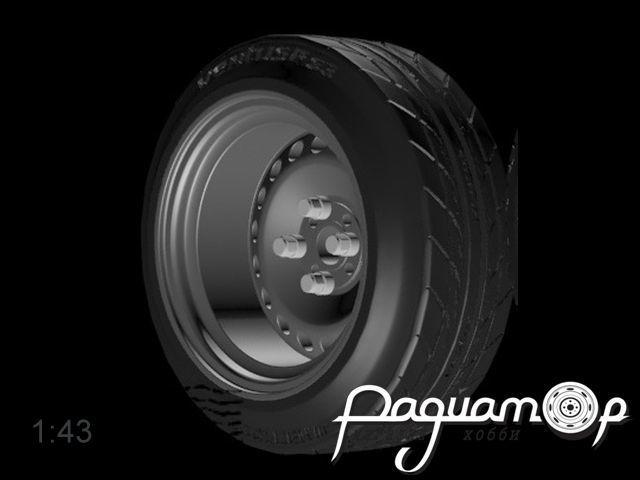 Комплект колес Штампованные разварки (14 дюймов) (4шт) 043-013