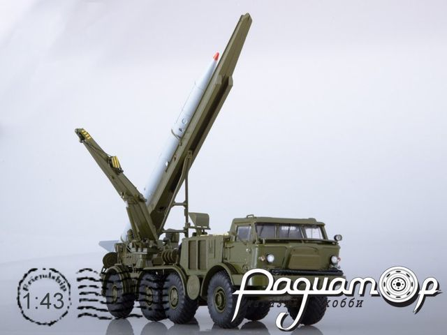 ЛУНА-М 95113 с ракетой 9M21 на шасси ЗИЛ-135ЛМ (1975) SSM5006