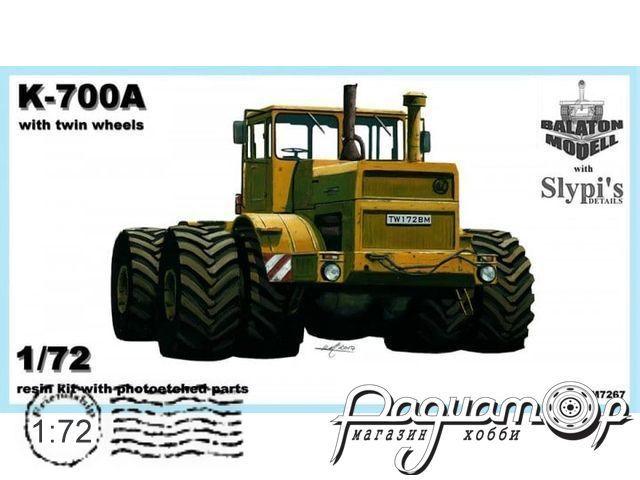 Сборная модель Трактор К-700А Кировец со спаренными колесами BM7267