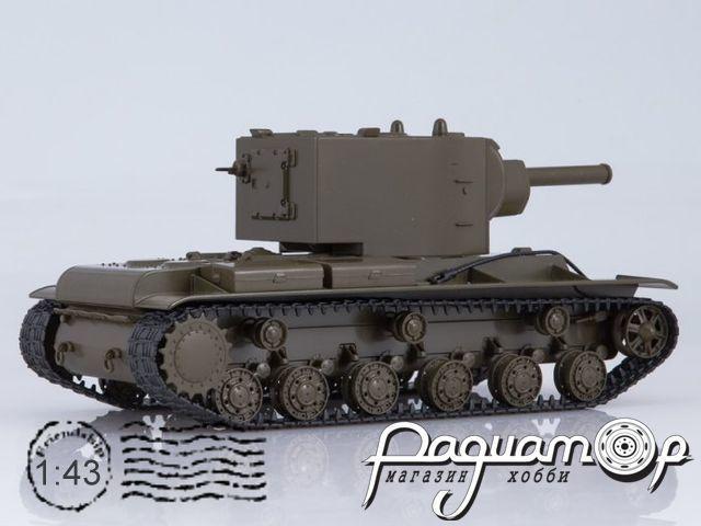 Советский тяжёлый штурмовой танк КВ-2 (1940) SSM3033