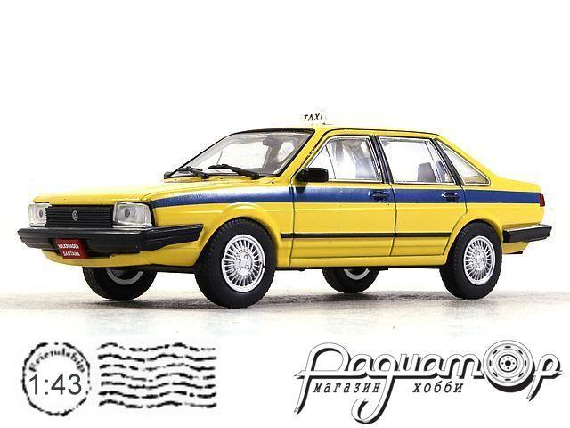 Volkswagen Santana Taxi Rio de Janeiro (1986) VSB05