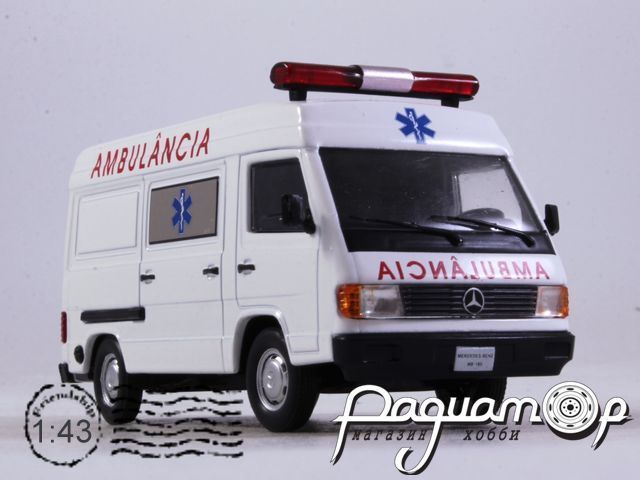 Mercedes-Benz MB 180 Ambulancia (1996) VSB16