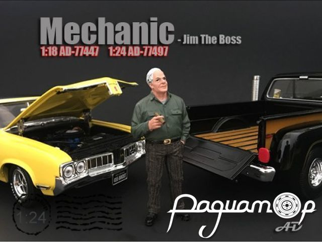Фигурка Mechanic Figure Jim the Boss AD77497