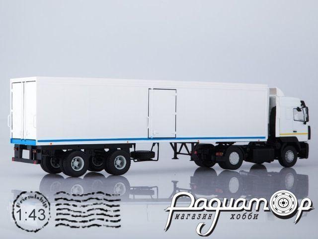 МАЗ-5440 с полуприцепом ОДАЗ-9786 (2011) SSM7056