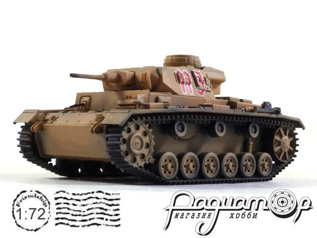 Pz.Kpfw.III Ausf.G (5cm Kwk38 DAK) (1940) CP0020