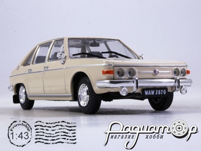 Regi Idok Legendas Autoi №12, Tatra 613 (1974)