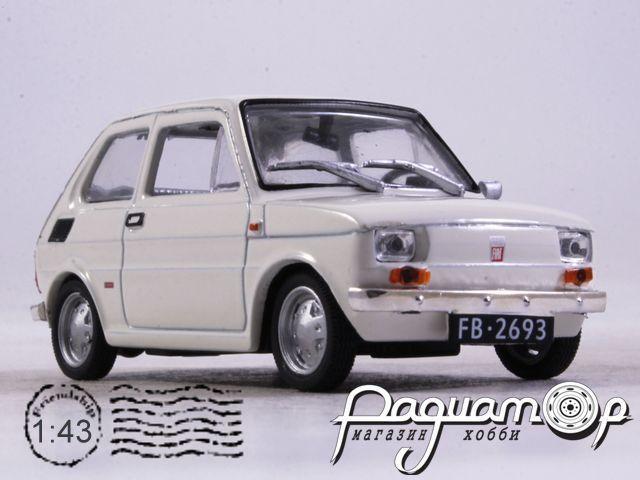 Regi Idok Legendas Autoi №13, Fiat 126p (1972)