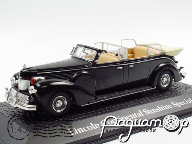 Lincoln Continental Sunshine Special, Conference de Yalta, Franklin Roosevelt (1945) 2696021 (Z)