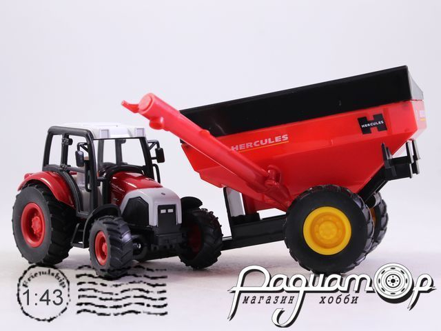 Lindner Farm Tractor с сельскохозяйственным прицепом (2010) 4109-06
