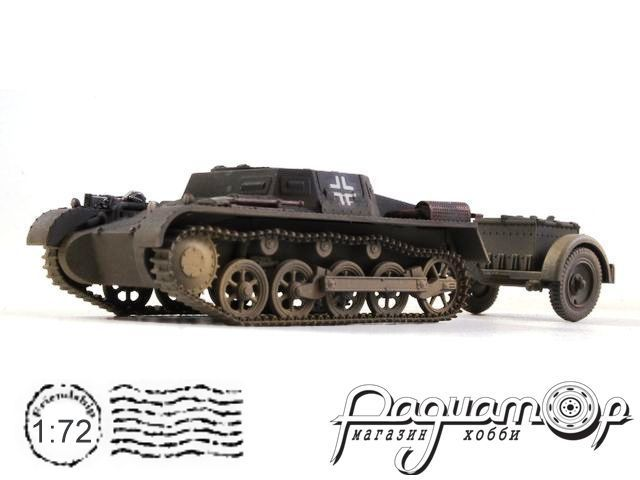 Pz.Kpfw.I Ausf.A Leichte (FUNK) Panzerwage with Trailer (1940) CP0049
