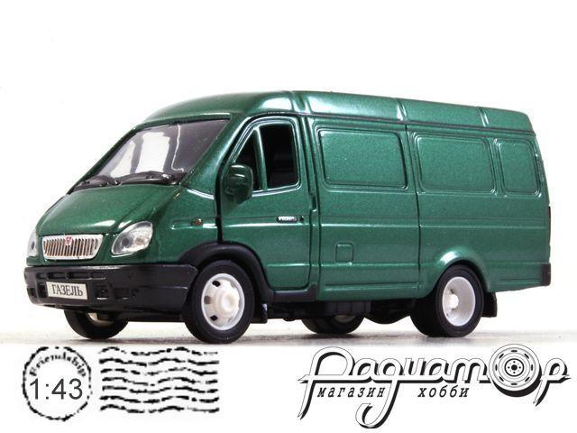 ГАЗ-2705 «Газель» фургон (2002) 2904G