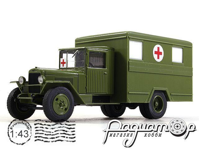 Автолегенды СССР Грузовики №51, ЗИС-44 (1942)