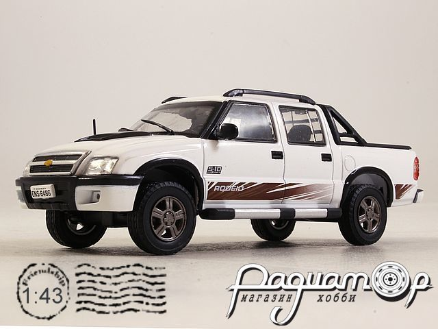 Chevrolet S-10 Double Cabine Rodeio Pick-Up (2011) EV049
