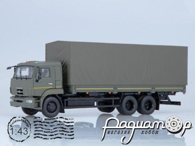 КАМАЗ-65117 бортовой (рестайлинг) (2003) SSM1318