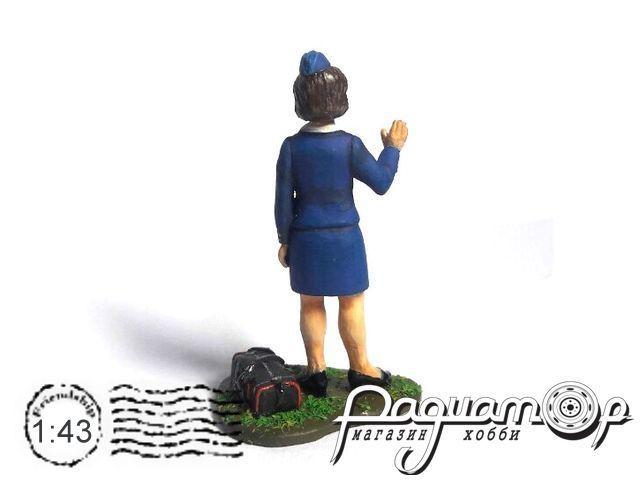 Стюардесса гражданской авиации СССР 1970-1980гг 190600