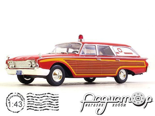 Ford Country Squire Amblewagon (1964) WB181 (PL)