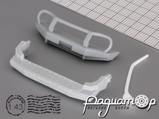 Комплект для внедорожного тюнинга (бампера, шноркель) Chevrolet Niva (Нива-Шевроле) GM017